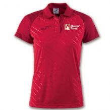 Munster Tennis Polo Torneo II Red Women's Fit - Adults